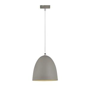 Picture of Husk Modern Pendant Grey (CIDP101166) Crompton Lighting