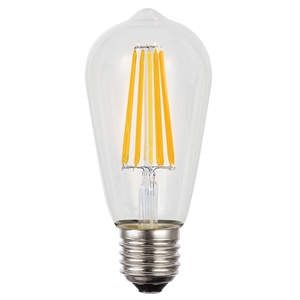 Picture of 12V 8W LED Filament Fancy ST64 Lamp (20991) Lusion