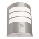 Picture of Kiama 1 Light Outdoor Wall Bracket with Sensor (MX50011SS/SEN) Mercator Lighting