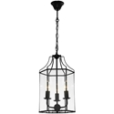 Picture of Arcadia 3 Light Black Pendant (ARCA3PBLK) Cougar Lighting