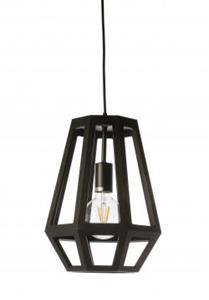 Picture of Santon 1 Light Small Timber Veneer Pendant (SANTON-28) Fiorentino Lighting