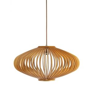 Picture of Bayron 1 Light Wood Veneer Pendant Fiorentino Importer