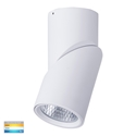 Picture of Nella White 18w Surface Mounted Rotatable LED Downlight (HV5824T-WHT) Havit Lighting