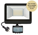 Picture of Guard 20W DIY TRICOLOUR LED SECURITY FLOOD LIGHT WITH PIR SENSOR (MLXG34520MS) Martec Lighting