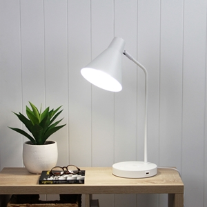 Picture of Targa Desk Lamp With USB (OL93952) Oriel Lighting