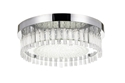 Picture of Andela 30W Round Dimmable LED Oyster Light Chrome / Cool White Telbix Lighting