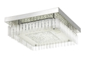 Picture of Andela 30W Square Dimmable LED Oyster Light Chrome / Cool White Telbix Lighting