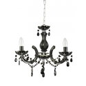 Picture of C-Mar 3 Lights Glass Chandelier Fiorentino Lighting