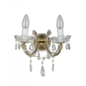Picture of C-Mar 2 Light Wall Glass Chandelier Fiorentino Lighting