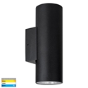 Picture of Aries 316 Stainless Steel Black Up & Down LED Wall Light (HV3626T-BLK) Havit Lighting
